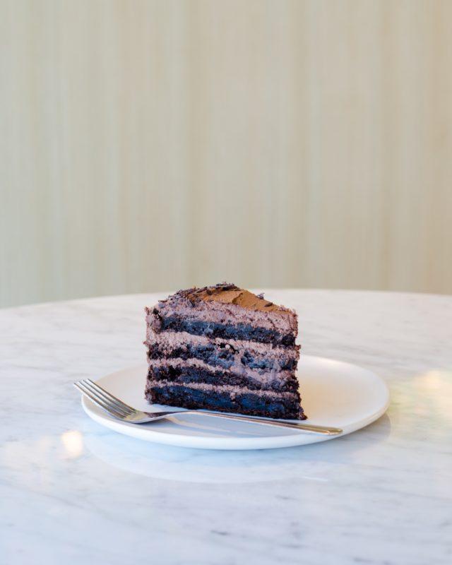 pyszne ciasto czekoladowe z kremem