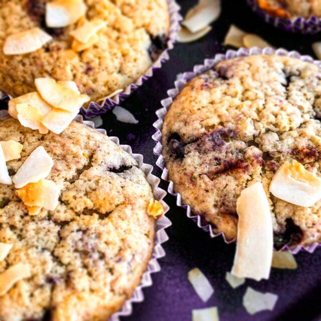 muffinki z białą czekoladą